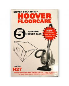 Hoover Silver Star Vacuum Cleaner Bags (H27)