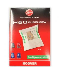 Hoover Pure HEPA H60 Vacuum Cleaner Bags (32420294) ONLY 1 PACK LEFT - CLEARANCE STOCK