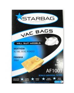 Wertheim, AEG & Piranha Paper Vacuum Cleaner Bags (AF1001)