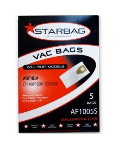 Wertheim ET Series Vacuum Cleaner Bags (AF1005S)