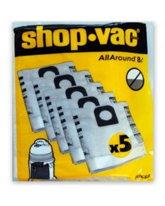Shop Vac 8e and Micro 10L Vacuum Cleaner Bags (9066829)