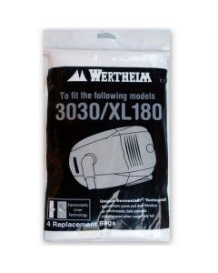 Vacuum Bags for Wertheim 3030, 3030T & XL180