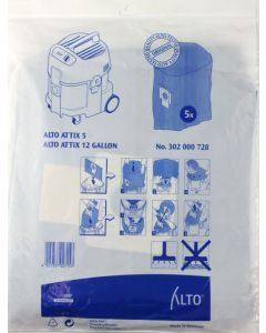 Alto Attix 5 Plastic Filter Bags (302000728)