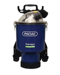 Pacvac Superpro Micron Commercial Back Pack Vacuum (superpromicron)