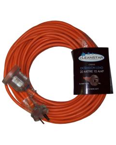20 Metres 10 Amp Orange Extension Lead (CE2010)